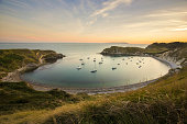 lulworth cove , sunset , dorset , take with my , canon , lee filters,