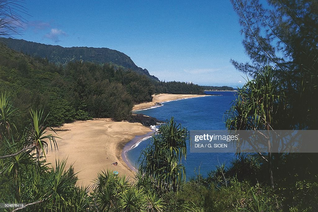 Lumahai beach Kauai Hawaii United States of America