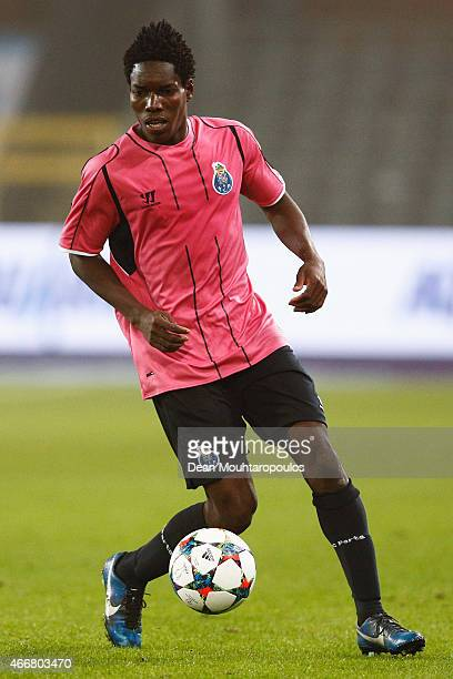 Lumor Agbenyenu of Porto in action during the UEFA Youth League quarter final match between RSC Anderlecht and FC Porto at Constant Vanden Stock...