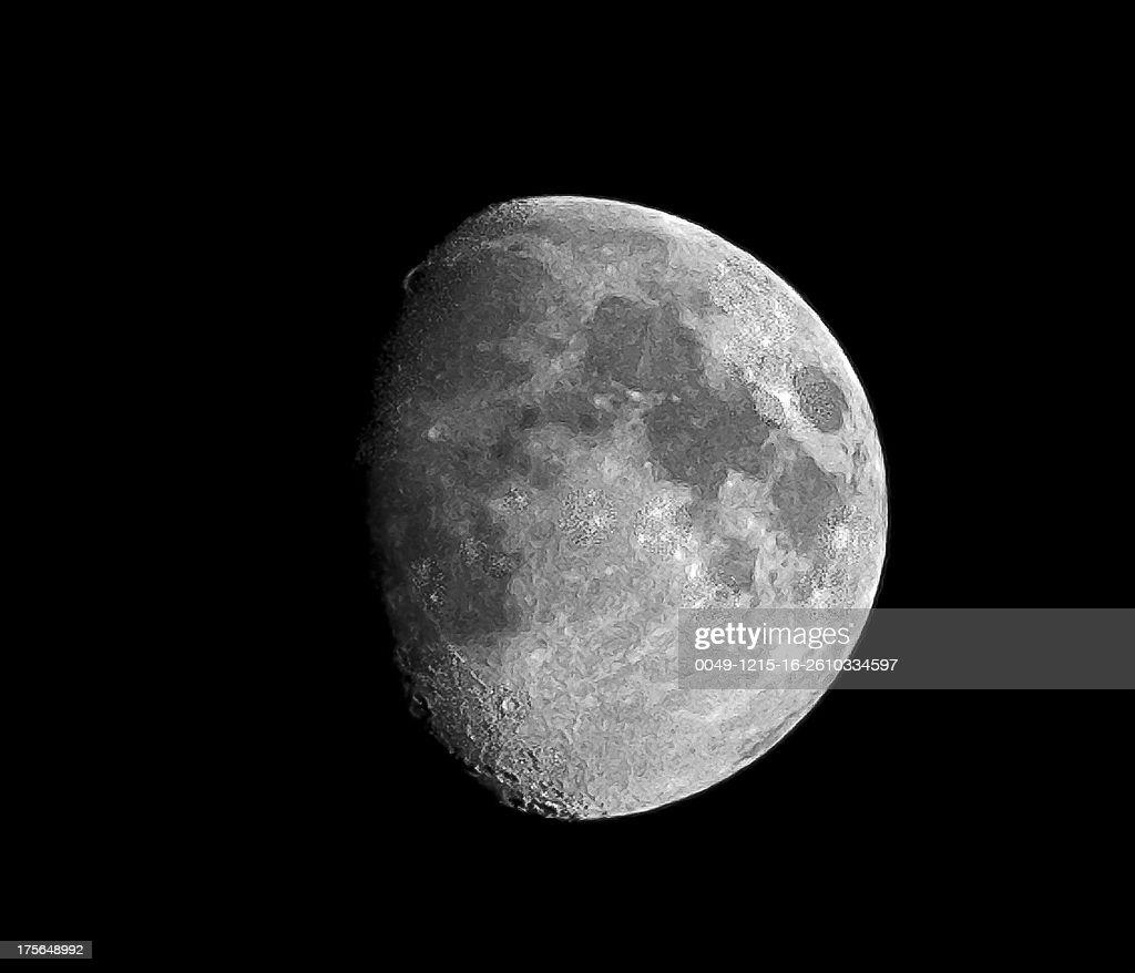 Luna Mexicana : Stock Photo