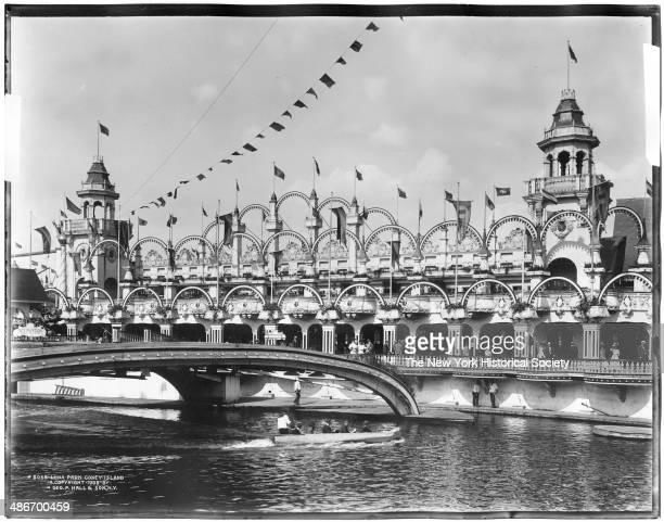 Luna Park Coney Island Brooklyn New York New York 1908