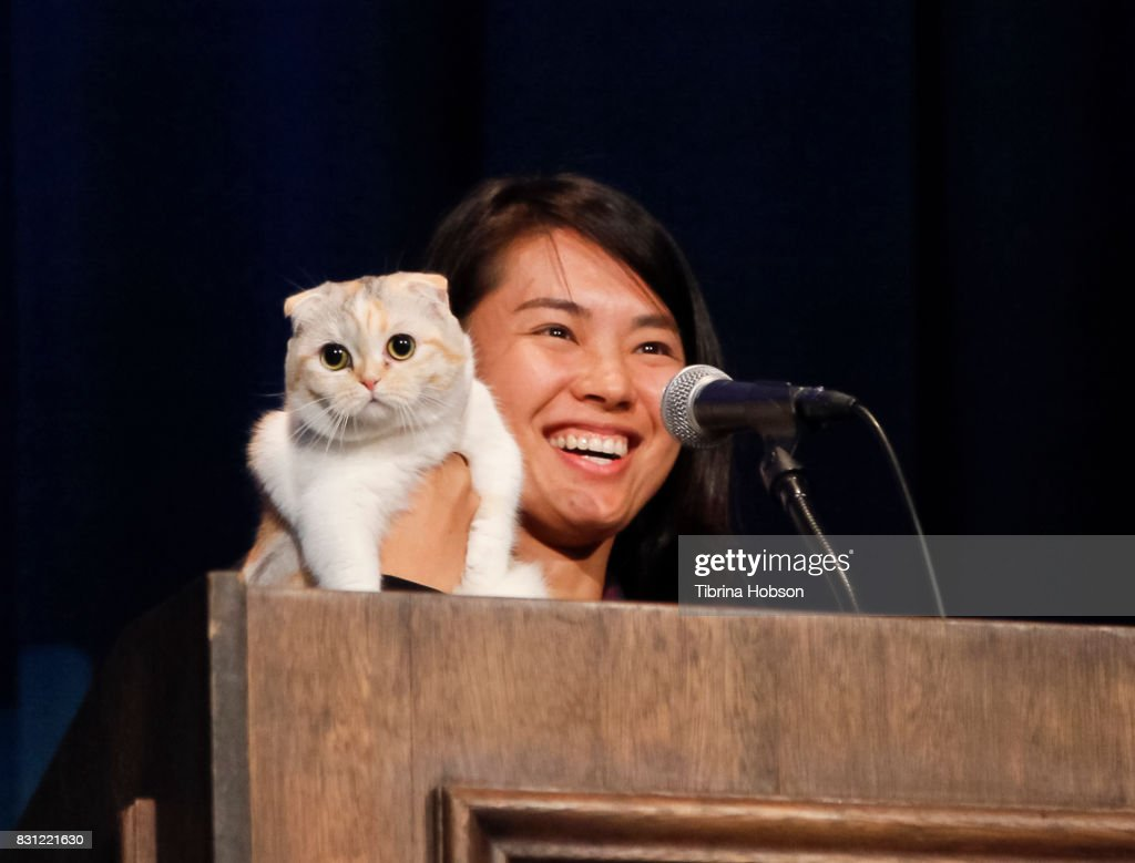 Luna Rose and Varisiri Mathachittiphan attend the 1st Annual CatCon Awards Show at the 3rd Annual CatCon at Pasadena Convention Center on August 13, 2017 in Pasadena, California.