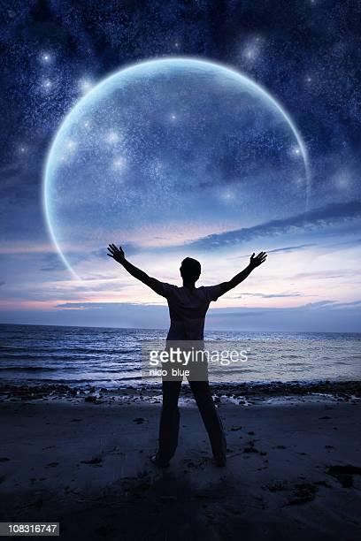 Lunar eclipse praise