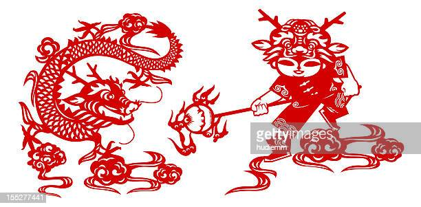Lunar New Year of the Dragon (Clipping Path!)
