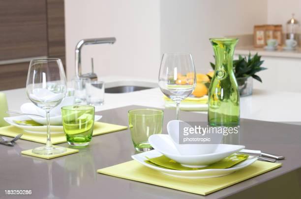 Mittagessen-bar in eine moderne Küche