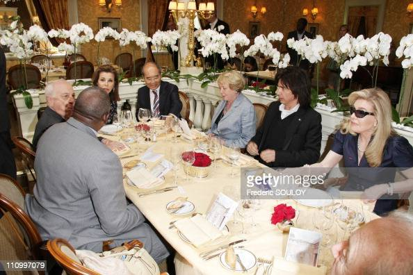 Lunch of annual meeting of Goodwill Ambassadors of UNESCO ...