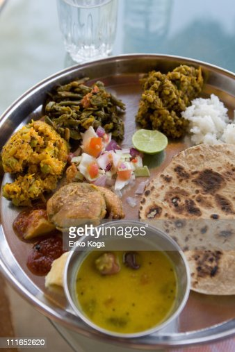 Lunch of Indian style : Stock Photo