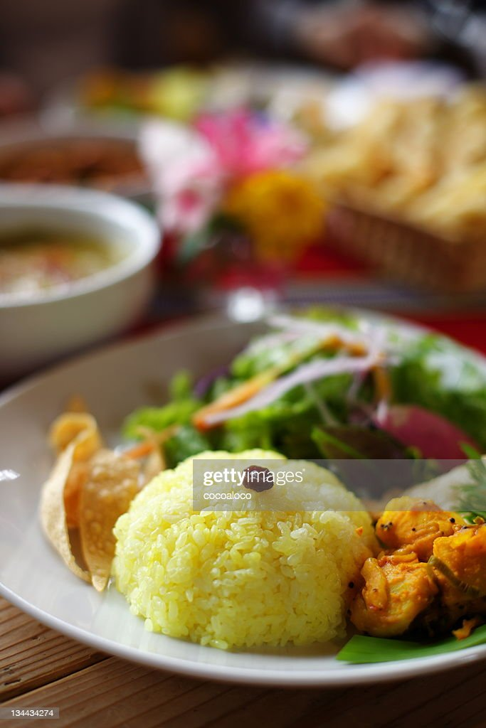 Lunch plate : Stock Photo