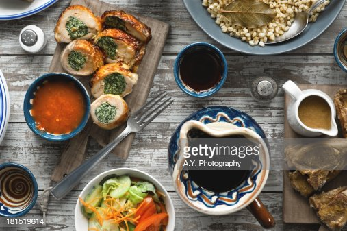 Lunch Table : Stock Photo