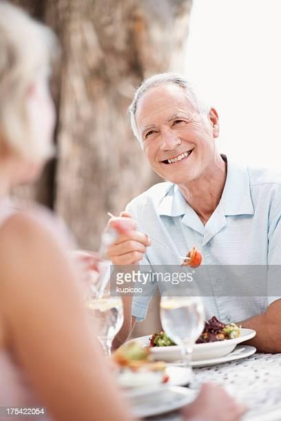 Déjeuner avec ma belle femme