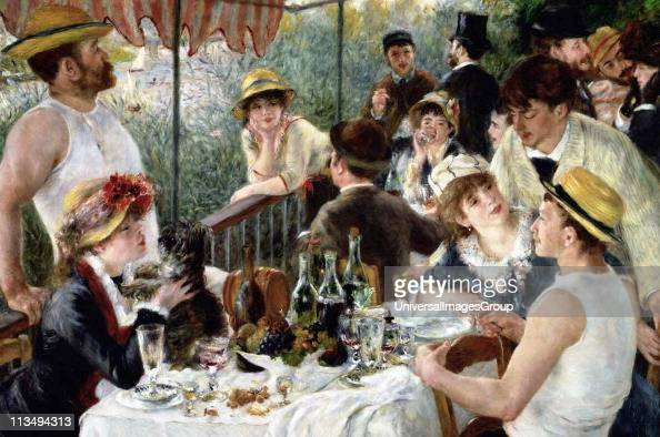 impressionist piece the luncheon of the boating party by pierre auguste renoir Pierre-auguste renoir 'luncheon of the boating party' (1880-1881) (photo:  the  boating party, an impressionist masterpiece by pierre-auguste renoir  the  piece is celebrated for simultaneously showcasing renoir's three.