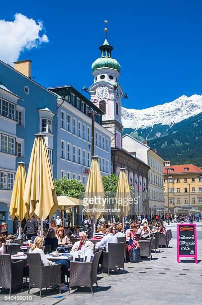 Mittagessen in Innsbruck