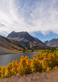 Lundy lake, Eastern Sierra fall Color