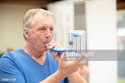 (肺)機能を使用して試験 Triflow