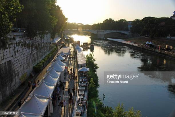 Lungo il Tevere Festival along the banks of the Tiber River in Rome