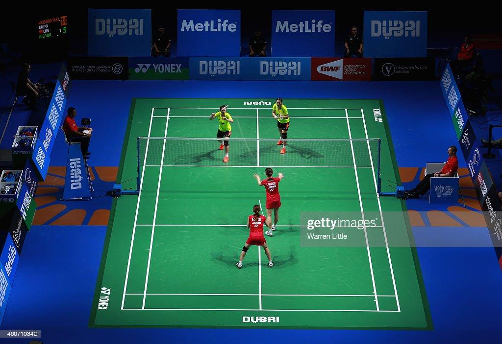 BWF Destination Dubai World Superseries Finals - Day 4