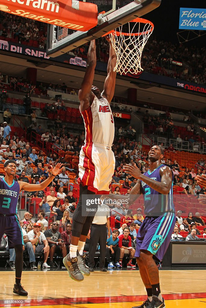 Justise Winslow Heat Dunk