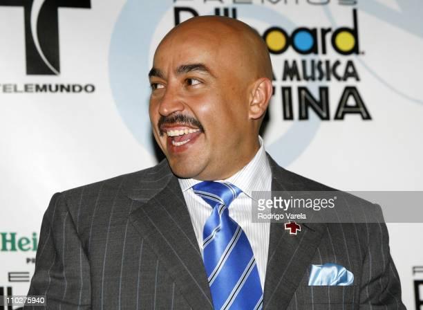 Lupillo Rivera during 2006 Billboard Latin Music Conference and Awards Press Room at Seminole Hard Rock Hotel and Casino in Hollywood Florida United...