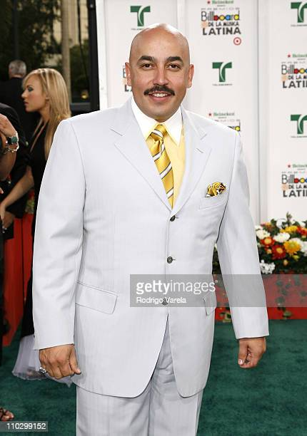 Lupillo Rivera during Billboard Latin Music Conference and Awards 2007 Arrivals at Bank United Center in Coral Gables Florida United States