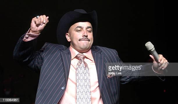 Lupillo Rivera during Lupillo Rivera Performs at the Universal Ampitheatre July 31 2004 at Universal Ampitheatre in Universal City California United...