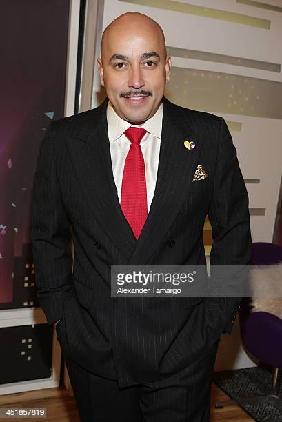 Lupillo Rivera participates in Univision's 'Mira Quien Baila' Grand Finale at Univision Headquarters on November 24 2013 in Miami Florida