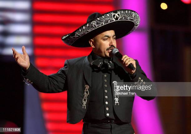 Lupillo Rivera performs onstage during the 9th Annual Latin Grammy Awards held at Toyota Center on November 13 2008 in Houston Texas