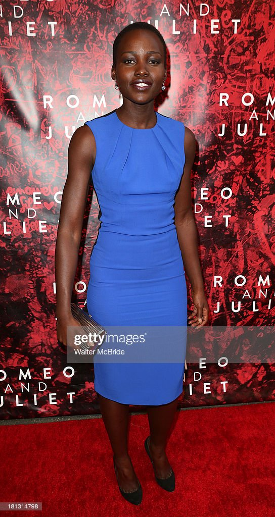 Lupit Nyong'o attends the 'Romeo And Juliet' Broadway Opening Night at Richard Rodgers Theatre on September 19, 2013 in New York City.