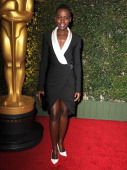 Lupita Nyong'o arrives at the The Board Of Governors Of The Academy Of Motion Picture Arts And Sciences' Governor Awards at Dolby Theatre on November...