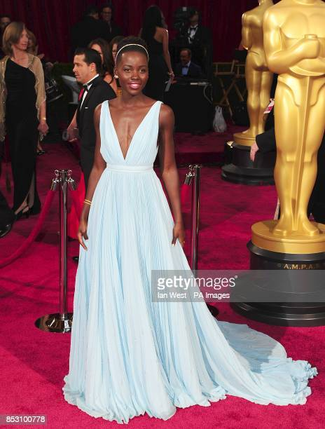 Lupita Nyong'o arriving at the 86th Academy Awards held at the Dolby Theatre in Hollywood Los Angeles CA USA March 2 2014