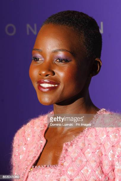 Lupita Nyong'o arriving at the British Academy Film Awards Nominee's party at Asprey New Bond Street in central London PRESS ASSOCIATION Photo...