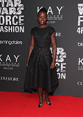 Lupita Nyong'o attends Star Wars 'Force 4 Fashion' launch event at Skylight Modern on December 2 2015 in New York City