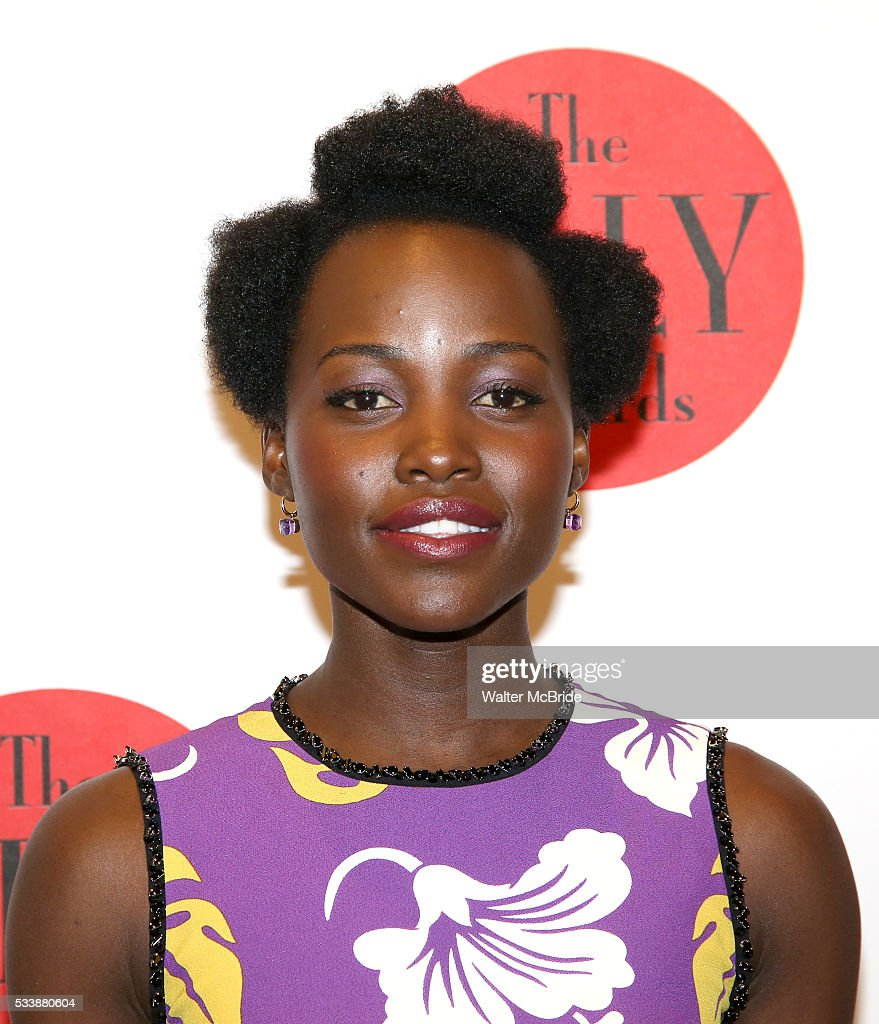 Lupita Nyong'o attends The 7th Annual Lilly Awards at Signature Theatre on May 23 2016 in New York City