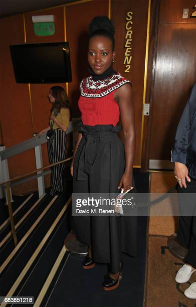 Lupita Nyong'o attends the London screening of 'Can't Stop Won't Stop A Bad Boy Story' presented by Apple Music at The Curzon Mayfair on May 16 2017...