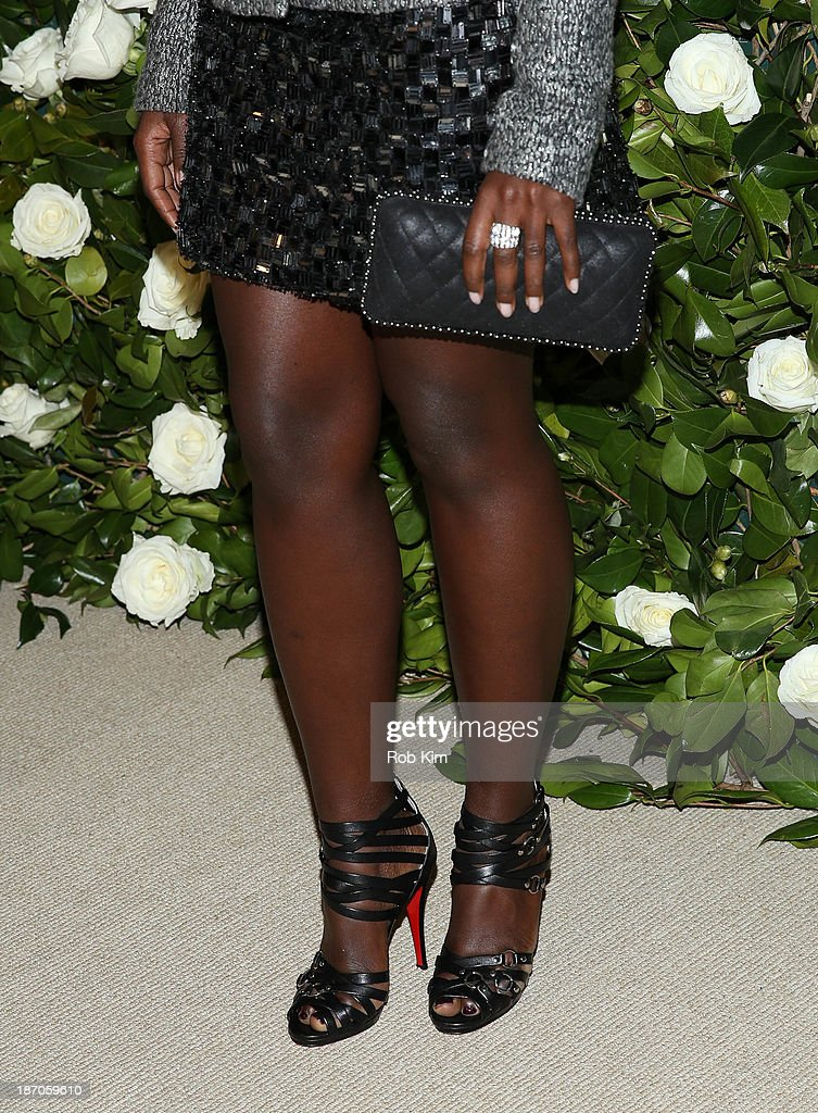 Lupita Nyong'o attends the Museum of Modern Art 2013 Film benefit: A Tribute To Tilda Swinton on November 5, 2013 in New York City.