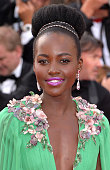 Lupita Nyong'o attends the opening ceremony and 'La Tete Haute' premiere during the 68th annual Cannes Film Festival on May 13 2015 in Cannes France