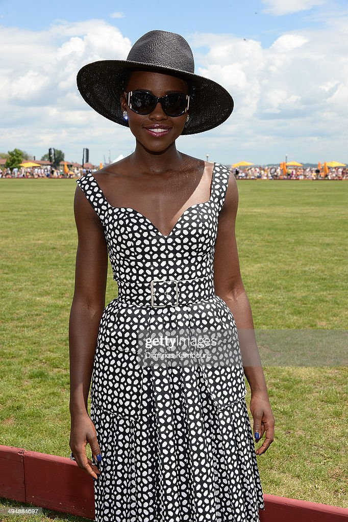 Lupita Nyong'o attends the seventh annual Veuve Clicquot Polo Classic in Liberty State Park on May 31, 2014 in Jersey City City.