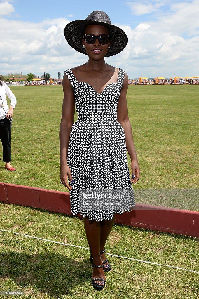 <a gi-track='captionPersonalityLinkClicked' href=/galleries/search?phrase=Lupita+Nyong%27o&family=editorial&specificpeople=10961876 ng-click='$event.stopPropagation()'>Lupita Nyong'o</a> attends the seventh annual Veuve Clicquot Polo Classic in Liberty State Park on May 31, 2014 in Jersey City City.