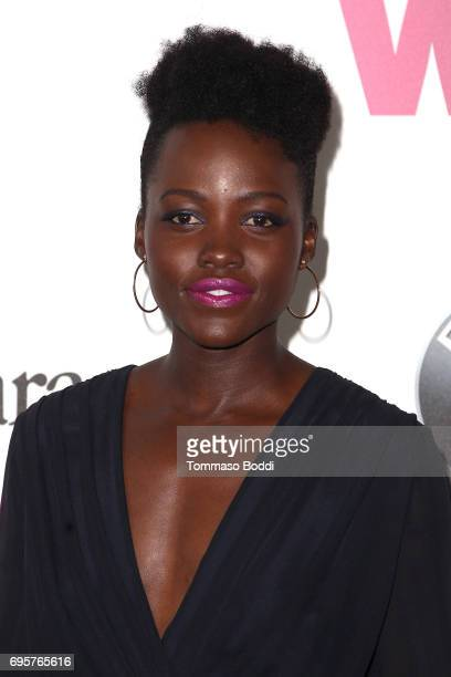 Lupita Nyong'o attends the Women In Film 2017 Crystal Lucy Awards Presented By Max Mara And BMW at The Beverly Hilton Hotel on June 13 2017 in...
