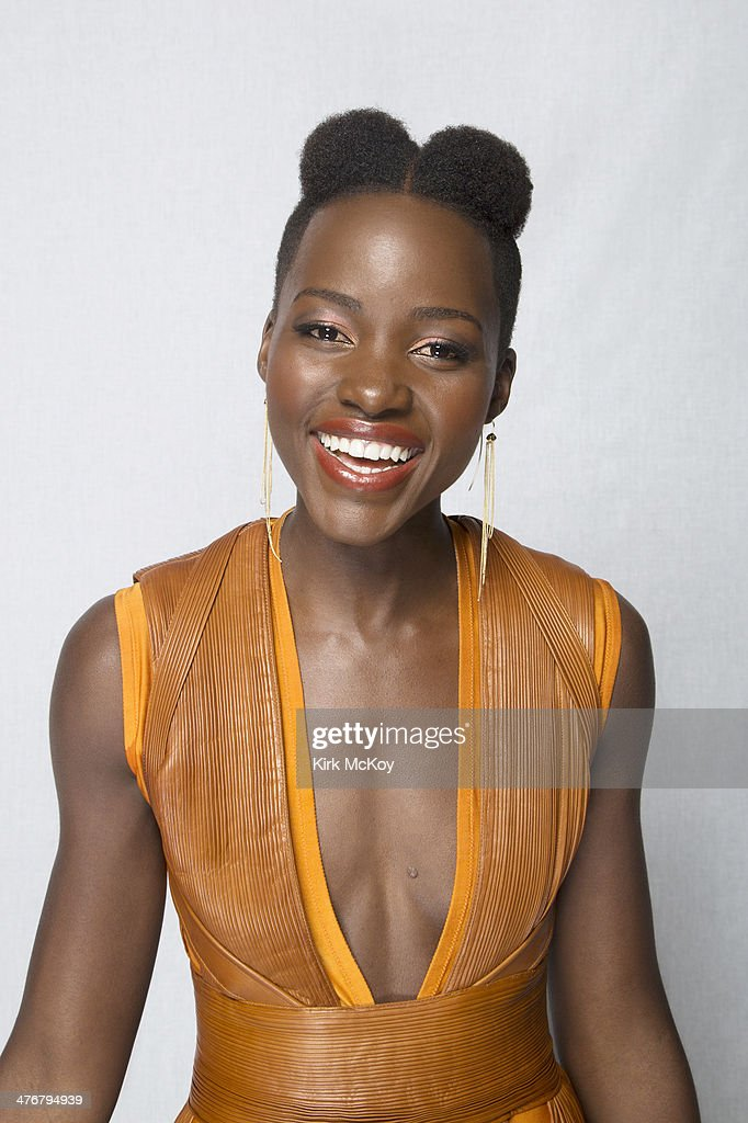Lupita Nyong'o is photographed for Los Angeles Times on February 24, 2014 in Los Angeles, California. PUBLISHED IMAGE.