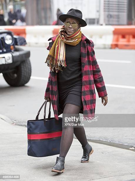 Lupita Nyong'o is seen on November 22 2015 in New York City