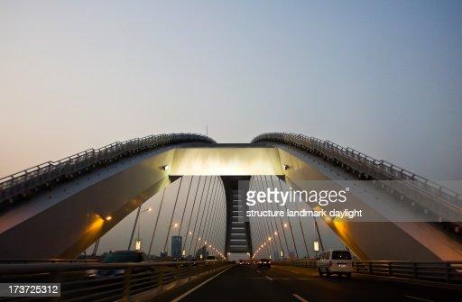 Lupu Bridge : Stock Photo