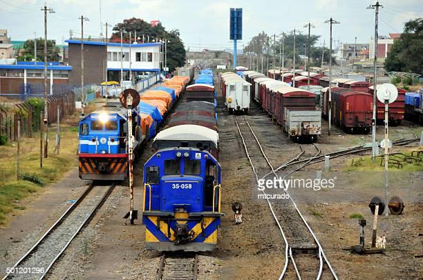 Lusaka, Zambia: trains - railway lines
