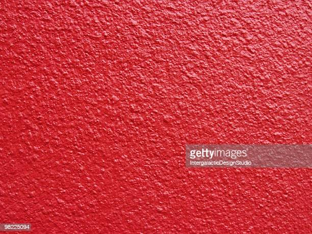 Luscious Red Plaster Wall