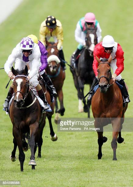 Lush Lashes ridden by Kevin Manning wins the Coronation Stakes at Ascot Racecourse Berkshire