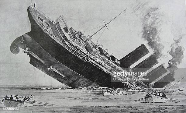 RMS Lusitania was a British ocean liner holder of the Blue Riband and briefly the world's biggest ship She was launched by the Cunard Line in 1906 at...