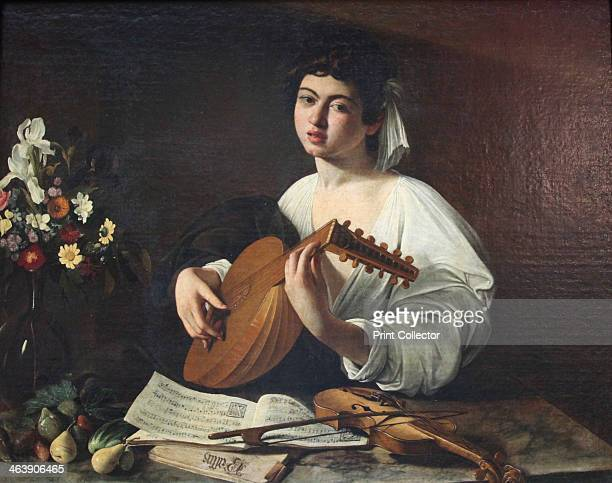 'LutePlayer' c1595 Found in the collection of The Hermitage St Petersburg