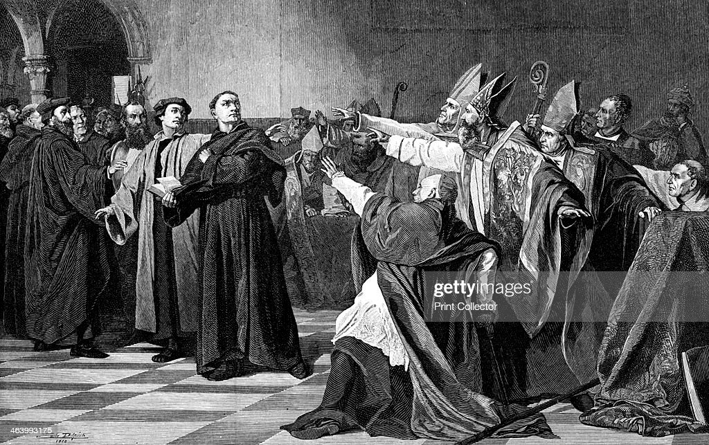 'Luther at the Diet of Worms', 1882. Martin Luther was a ...