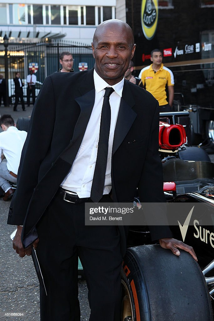 Luther Blissett attends The Grand Prix Ball at the Royal Artillery Gardens on July 3, 2014 in London, England.