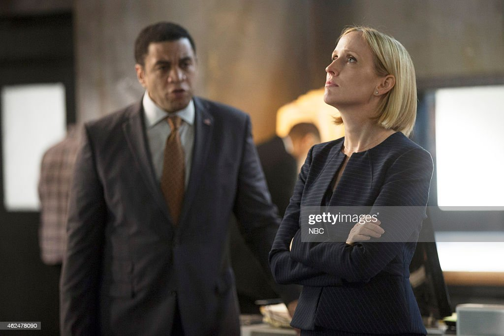 THE BLACKLIST 'Luther Braxton Conclusion' Episode 210 Pictured Harry Lennix as Harold Cooper Janel Moloney as Kat Goodson