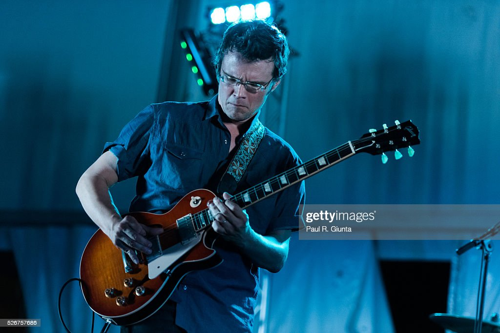 Luther Dickinson performs on stage at the Beale Street Music Festival on April 30, 2016 in Memphis, Tennessee.